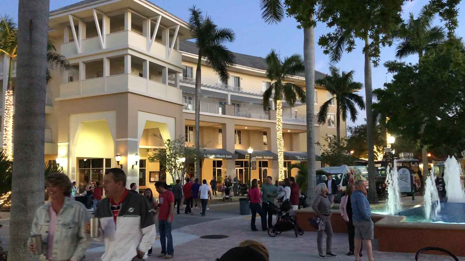 Downtown Abacoa. Jupiter, Florida